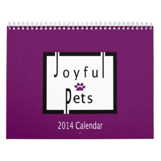 2014 Joyful Pets Calendar