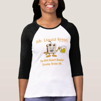 2014 Kennett Square Beerfest Womens 3/4 Sleeve T-Shirt