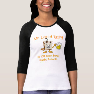 2014 Kennett Square Beerfest Womens 3/4 Sleeve Tee Shirts