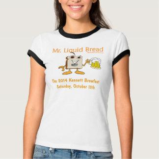2014 Kennett Square Beerfest Womens Ringer T-Shirt