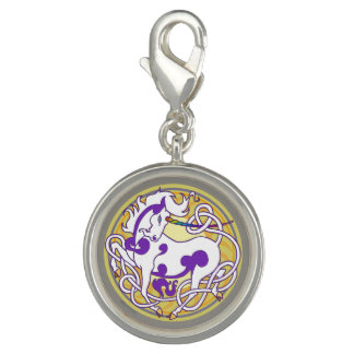 2014 MinkStyle Unicorn Charm-Purple/Yellow