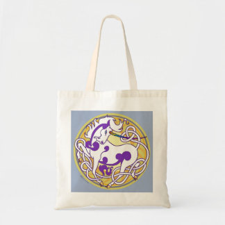 2014 MinkTotes: Unicorn Tote - White/Purple/Yellow