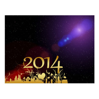 2014 New Years Post Cards
