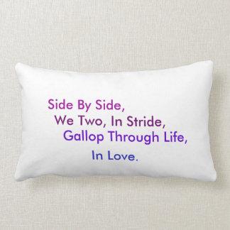 2014 RunequineTM Pillow: Love Lumbar Cushion