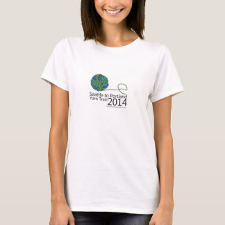 2014 Seattle to Portland Yarn Train T-shirt