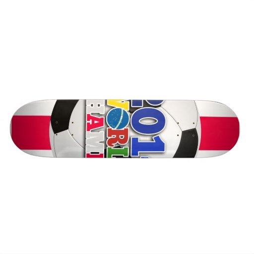 2014 World Champs Ball - England Skate Board Decks