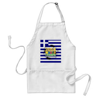 2014 World Champs Ball - Greece Standard Apron