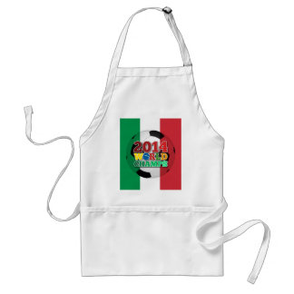 2014 World Champs Ball - Italy Apron