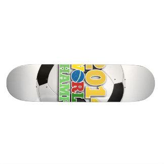2014 World Champs Ball - Nigeria Skate Board