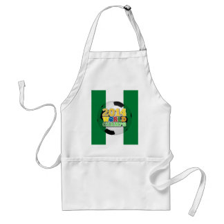 2014 World Champs Ball - Nigeria Standard Apron