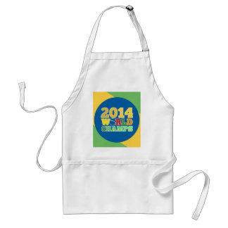 2014 World Champs - Bra Standard Apron