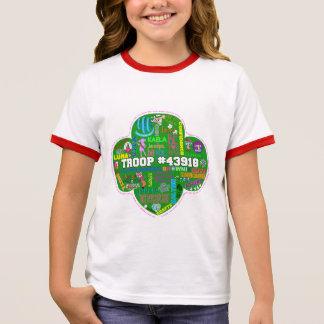 2015-2016 Kid Troop T-shirt - color collar