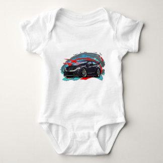2015-2018 black WRX Baby Bodysuit