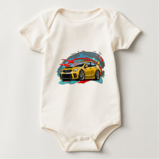 2015-2018_Yellow_WRX Baby Bodysuit