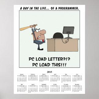 2015 Calendar Computer Error Poster