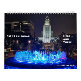 2015 Calendar Here and There