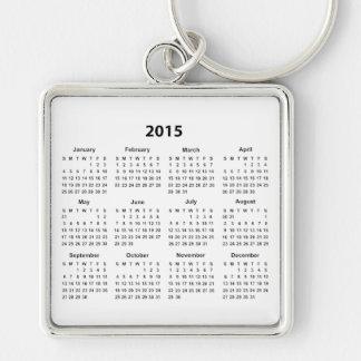 2015 Calendar Key Chain