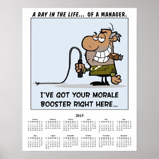 2015 Calendar Morale Booster Print