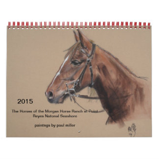 2015 calendar of Morgan Horse Ranch at PRNS
