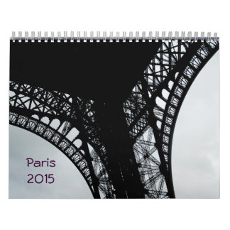 2015 Calender Paris, France Calendar
