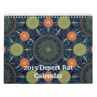 2015 Desert Rat Calendar