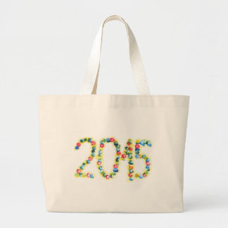 2015 Finger painting with poster paint Jumbo Tote Bag