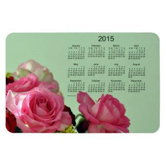 2015 Floral Calendar by Janz 4x6 Magnet Flexible Magnet
