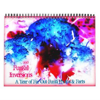 2015 Fungal Inversions Pacific Northwest Mushrooms Calendar