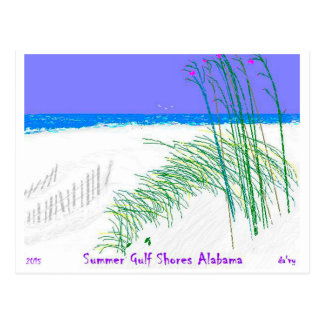 2015 Gulf Shores Alabama Postcard