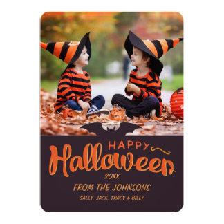 2015 Happy Halloween Custom 13 Cm X 18 Cm Invitation Card