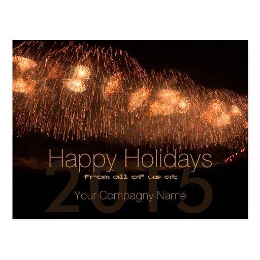 2015 Holidays Customizable Corporate Cards 1 - Postcard