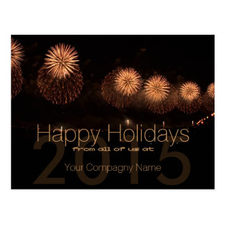 2015 Holidays Customizable Corporate Cards 3 - Post Cards