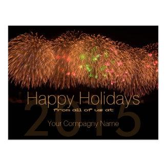2015 Holidays Customizable Corporate Cards - Post Card