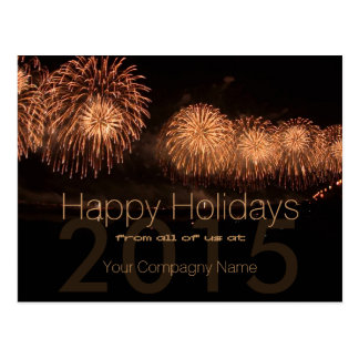 2015 Holidays Customizable Corporate Cards - Post Card