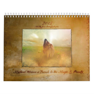 2015 Mystical Ladies & Witchy Women Calendar