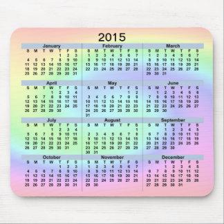 2015 Pastel Wave Mousepad