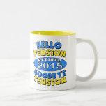 2015 Retirement Two-Tone Mug