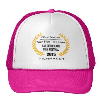 2015 SDBFF Filmmaker Hat Pink