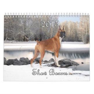2015 Show Boxers Calendar