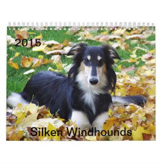 2015 Silken Windhounds Wall Calendar