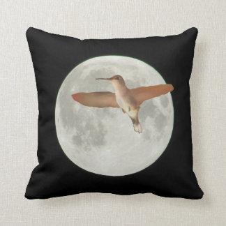 2015 Super Moon with Humming bird Cushion