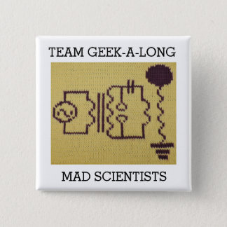 2015 Team Geek-A-Long Button
