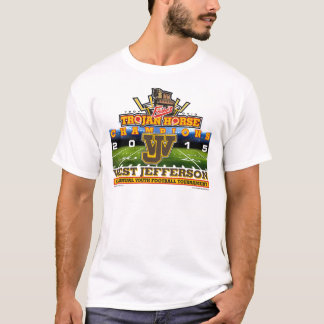 2015 Trojan Horse - West Jefferson Roughriders T-Shirt