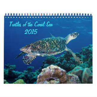 2015 Turtles of the Coral Sea Calendar