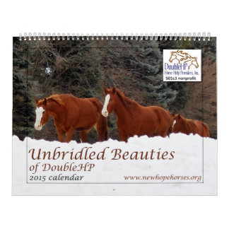 2015 Unbridled Beauties of DoubleHP Calendar