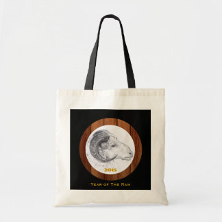 2015 Year of The Ram - Chinese New year - Tote Bag