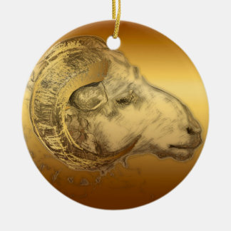 2015 Year of the Ram Sheep or Goat - Ornament