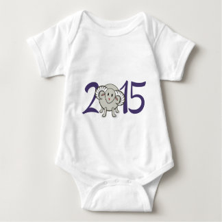 2015 Year of the Sheep/Goat/Ram Baby Bodysuit