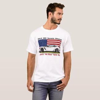 2015 Z06 Corvette - America's Old Glory Sports Car T-Shirt