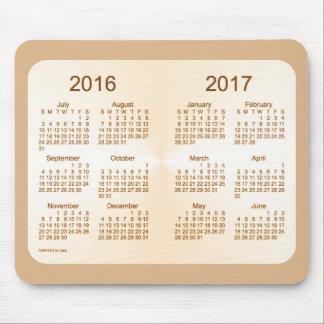2016-2017 School Year Sun Tan Calendar by Janz Mouse Pad